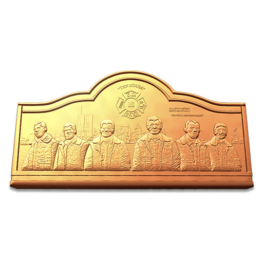 fireman table tribute relief clayoo2 sample